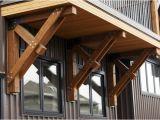 Exterior Structural Wood Brackets Canada Bracket Traditional Exterior Edmonton by Habitat