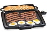 Faberware Family Size Griddle Farberware Automatic Electric Griddle Model 206 with Drip