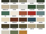 Fabral Metal Roofing Color Chart Fabral Metal Roof Color Chart