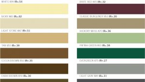 Fabral Metal Roofing Color Chart Fabral Metal Roofing Color Chart