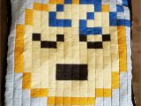 Fabric Shops In Lubbock Texas Emojis Pixel Pillow Cover Etsy