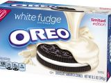 Fabric Stores Near Evansville In oreo White Fudge Covered Chocolate Sandwich Cookies 8 5 Oz