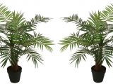 Fake Palm Trees for Sale Indoor 2 Best Artificial 90cm 3ft Paradise Palm Trees Outdoor Indoor