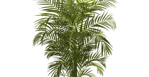 Fake Palm Trees for Sale Outdoor Nearly Natural areca Uv Resistant Silk Palm Tree Products