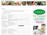 Fake Pet Shipping Companies Scamwarners Com View topic Fake Pet Shipping Companies
