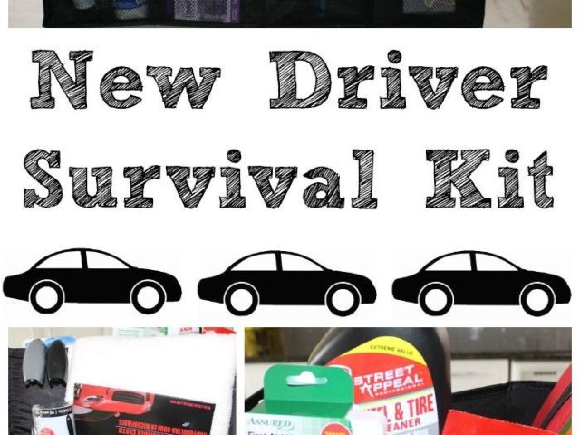 Family Birthday Board Diy Kit New Driver Survival Gift Ideas