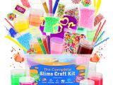 Family Birthday Board Kit Amazon Com Dilabee Ultimate Diy Slime Making Kit for Girls and Boys
