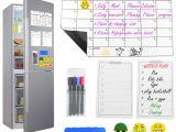 Family Birthday Board Kit Australia Magnetic Dry Erase Calendar Set for Fridge Abimars Large Monthly