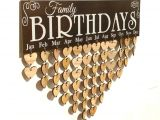 Family Birthday Board Kit Canada Vorcool Family Birthday Board Plaque Diy Hanging Wooden Birthday
