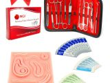 Family Birthday Board Kit Suture Kit Practice Medical Sutures and Dissection with 3d