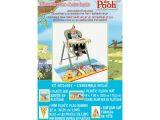 Family Birthday Board Kit Winnie the Pooh 1st Birthday High Chair Decorating Kit 4pc