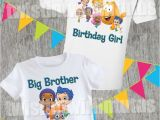 Family Birthday Board Kits Bubble Guppies Family Birthday Shirts In 2018 Family Sets