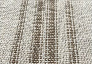 Feedsack Fabric by the Yard Grain Sack Fabric Tan Stripes Vintage Inspired sold by the