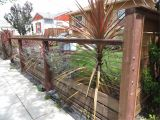 Fence Company Marietta Ga Modern Low Fence with Wood at Bottom Horizontal Wires and Nice