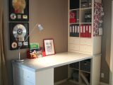 File Cabinet Corner Desk Diy This is My Desk Project It Was Put together with Expedit