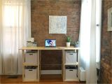 File Cabinet Desk Diy 17 Free Diy Desk Plans You Can Build today