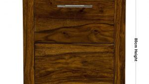 File Rails for Wood Cabinets Uk Indian Sheesham 2 Drawer Wood Office Study Filing Cabinet Oaklands