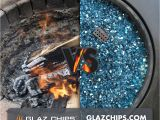 Fire Glass Vs Lava Rock Glaz Chips Fire Glass the Alternative Product for