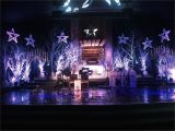 First assembly Church north Little Rock Cool Christmas Stage Design with White Spray Painted Trees Idea