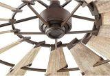 Fixer Upper Windmill Ceiling Fan 72 Quot Windmill Fan by Quorum International Farmhouse