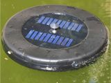 Floating solar Powered Fountain Pump Aerator Water Pond Floating solar Pond Aerator