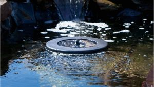 Floating solar Powered Pond Aerator Pond Boss solar Floating Pond Aerator