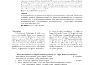 Floristerias Baratas En San Salvador Pdf Taxonomic Notes and New Combinations for asemeia Polygalaceae