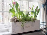 Flower Window Boxes Coupon Code White Washed Window Box From A Wine Crate Pretty Handy Girl