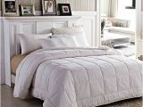 Fluffiest Down Alternative Comforter Amazon Amor Amore White soft Fluffy Reversible solid Beding