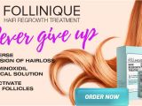 Follinique Hair Regrowth Treatment Follinique Hair Regrowth formula for Long Bouncy Hairs