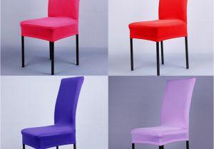 Forros Para Sillas De Fiesta Fundas De Silla De Tela Elastica Pura De 14 Colores Para Decoracia N