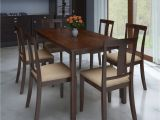 Fraser 6 Piece Dining Set Perfect Homes by Flipkart Fraser Rubber Wood 6 Seater