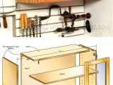Free Frameless Kitchen Cabinet Plans Hand tool Wall Cabinet Plans Workshop solutions Plans Tips and