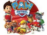Free Paw Patrol Iron On Transfers Paw Patrol Iron On Transfer 5 Quot X5 75 Quot for Light Colored