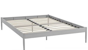 Full Size Bed Slats Home Depot Modway Elsie Gray King Bed Frame Mod 5475 Gry the Home Depot