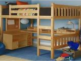 Full Size Loft Bed with Desk Underneath Plans Desk Bunk Bed Combo Full Size Loft Bed W Desk Underneath