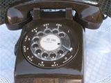 Fuller Brush Products Vintage Vintage Itt Chocolate Brown Rotary Phone Vintage Phones and Vintage