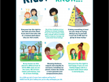 Funny Health and Safety Moment Ideas Posters Empowering Children In Body Safety Gender Equality and