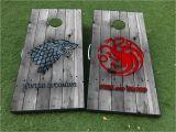 Game Of Thrones Cornhole Product Game Of Thrones Targaryen Stark Cornhole Board