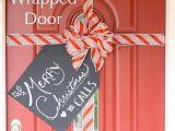 Garage Door Christmas Wrap 50 Christmas Door Decoration Ideas Pink Lover