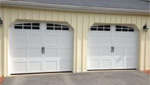 Garage Door Repair St Charles Mo Haas Model 660 Steel Carriage House Style Garage Doors In White with