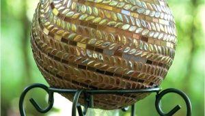Gazing Ball Stands Hobby Lobby Gazing Ball Chameleon Crackled Glass solar Gazing Ball On