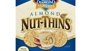 Gluten Free Cookie Delivery College Station Nut Thins Crackers original Almond 4 25 Oz Box Walmart Com