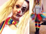 Good Ideas for Teenage Girl Halloween Costumes My Diy Cute but Scary Clown Costume A Happy Halloween Scary