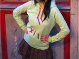 Good Ideas for Teenage Girl Halloween Costumes Vanellope Von Schweetz the Glitch Cosplay From Wreck It Ralph