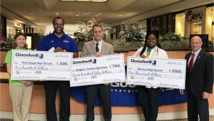 Goodwill Electronics Recycling Richmond Va Henrico Schools Smash Record Donate 8 700 Denim Items to Goodwill