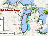 Google Maps Grand Rapids Minnesota 7 Foot Waves Hazardous Swimming Expected On some Great Lakes
