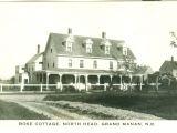 Grand Manan Real Estate Rppc Rose Cottage Grand Manan Nb Hippostcard