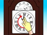 Grandfather Clock Won T Chime How to Wind A Grandfather Clock 10 Steps with Pictures