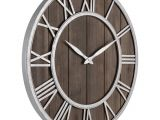 Grandfather Clock Won T Chime or Strike Amazon Com Oldtown Farmhouse Metal solid Wood Noiseless Wall